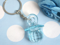 Blue Baby Dummy Key Ring